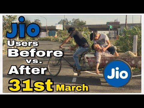 Jio Users Before vs After 31st March | Round2Hell | R2H