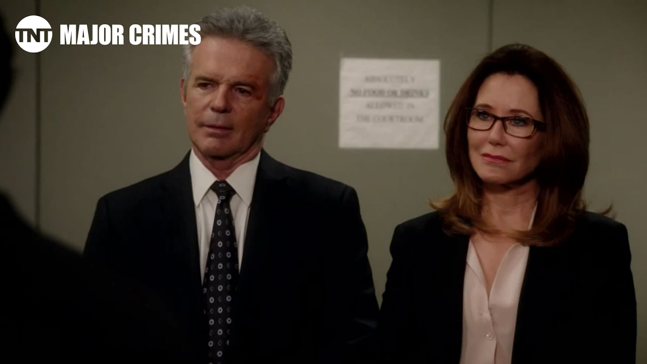 Major Crimes: Rusty Gets Served Season 4, Ep 16 [CLIP] | TNT