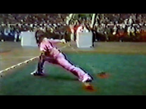 【武術】1984 女子双鞭 / 【Wushu】1984 Women Shuangbian(Double Chain Whip)