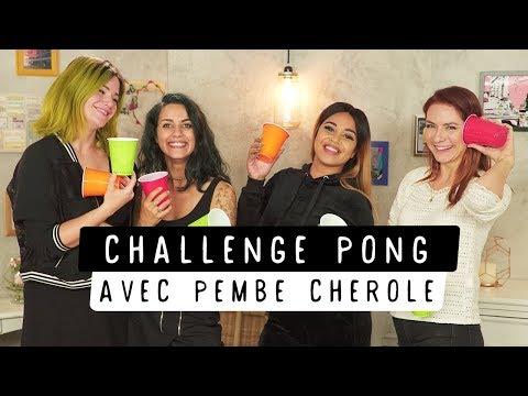 Pembe Cherole nous massacre au Challenge Pong | Coline, Pastel et Estelle Blog Mode
