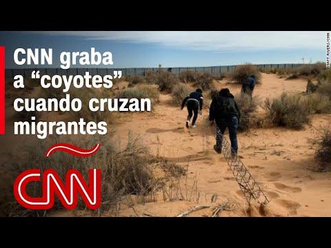 Así cruzan los 'coyotes' a personas en la frontera: CNN graba operación de tráfico de inmigrantes