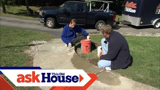 How To Level a Stone Walkway | Ask This Old House