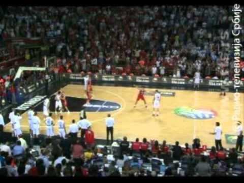 Turska -  Srbija 83 - 82 polufinale