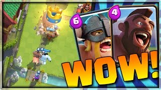 win tons of cups with this elite barbarian hog rider deck   push to 4500 episode 3   clash royale