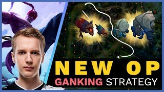 NEW OP Ganking Strategy In Patch 9.12!   Skill Capped