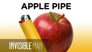 No Papers!? Make an Apple Pipe!- Invisible Man Presents