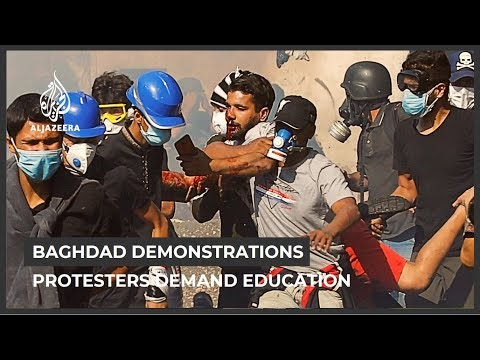 Iraq protesters demand education