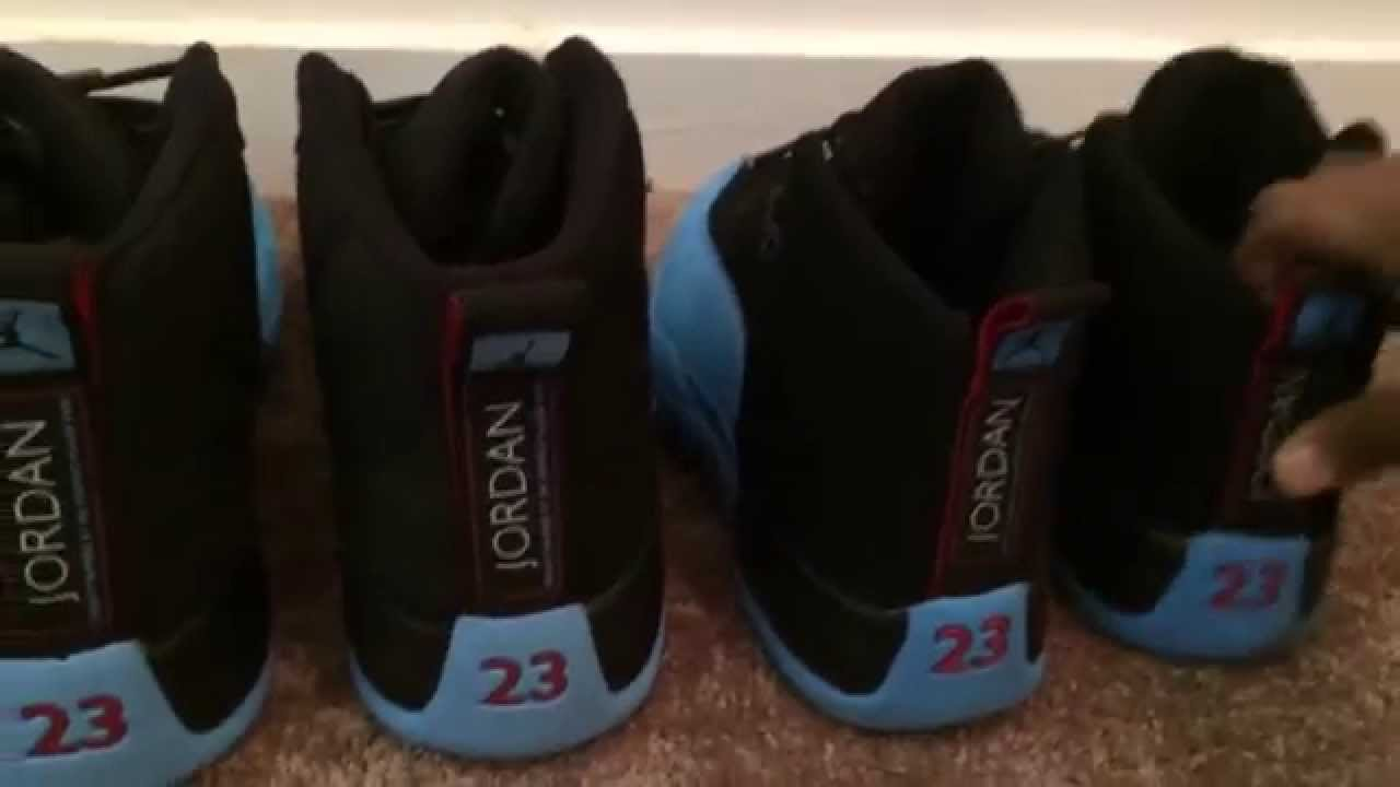 newest 9fb51 1cc4b Jordan 12 Gamma Blue - Real vs. Fake