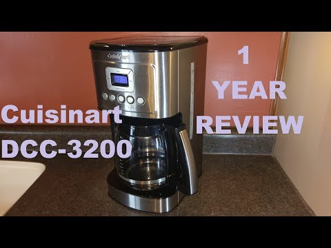 Cuisinart DCC-3200 Coffee Maker 1 Year Review