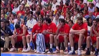 Eurobasket 2007: España-Rusia.Andres Montes