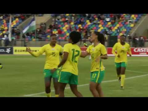 Banyana Banyana vs Lesotho| June 2018| Second Leg Highlights