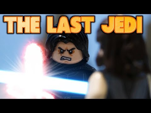 LEGO Star Wars The Last Jedi BATTLE ON CRAIT (Stop Motion Animation)