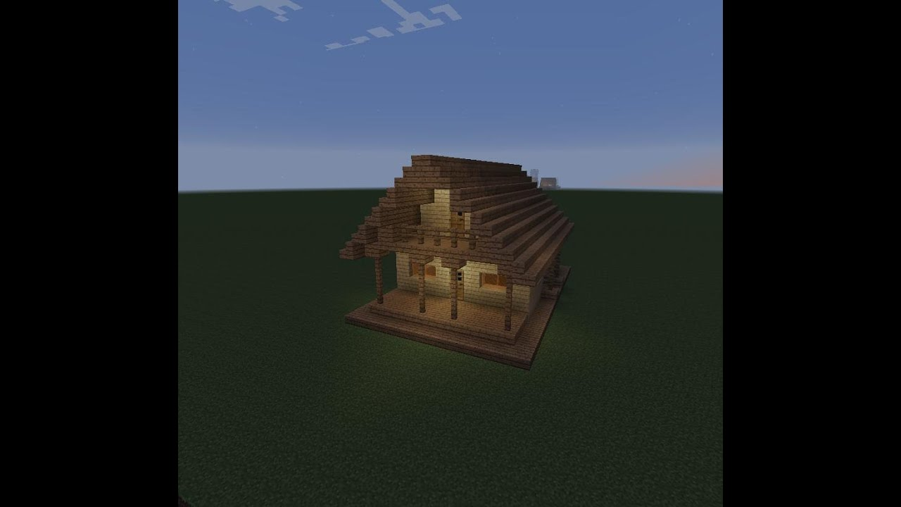 Let 39 S Build A Beautiful Wooden House Minecraft Modern