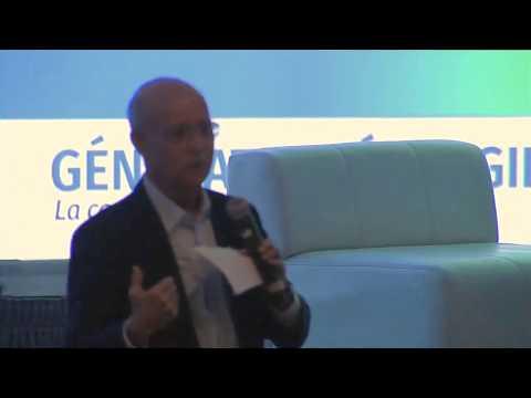 Jeremy Rifkin delivers address at Generation Energy forum