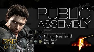 RE5 - Mercenaries Reunion Guide SS RANK Chris Heavy Metal - Public Assembly [NARRADO]