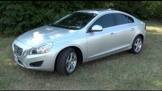 2012 Volvo S60 T5 Startup, Interior & Exterior Tour and Test Drive