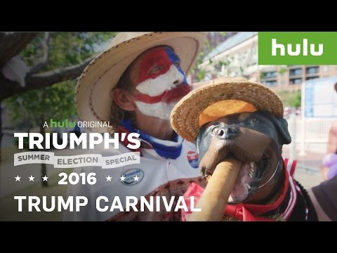 Triumph Throws Carnival for Trump Supporters • Triumph's Summer Election Special 2016