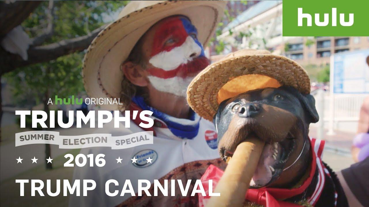 triumph throws carnival for trump supporters • triumph's summer