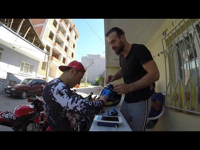 Motovloger Kaskı Nasıl Olmalı bathuR1 Vlog #157