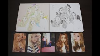  Unboxing  Red Velvet 레드벨벳 - Ice Cream Cake (Ice Cream Cake & Automatic Ver. W/ All Photocards)