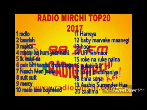 Radio mirchi top20 2017