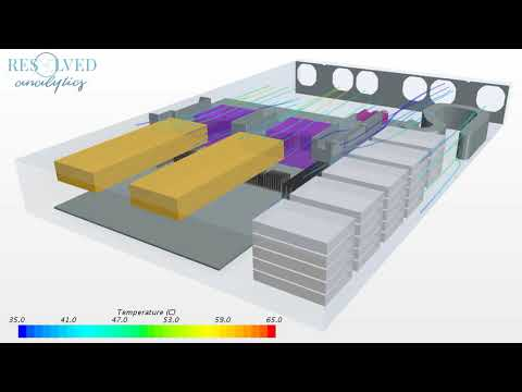 CFD Simulation of Barreleye Open Compute Server Architecture