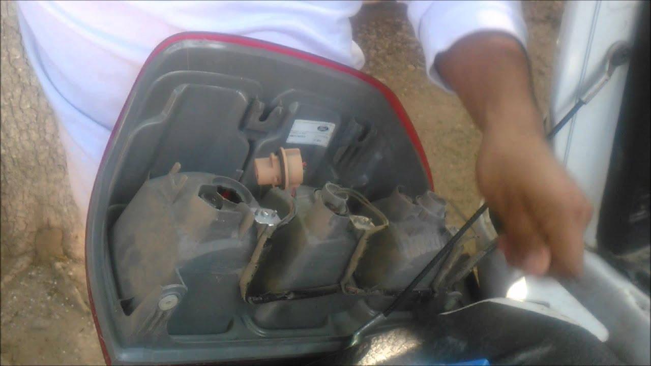 Como Reparar Una Luz Trasera Da 241 Ada De Una Ford Ranger Xlt