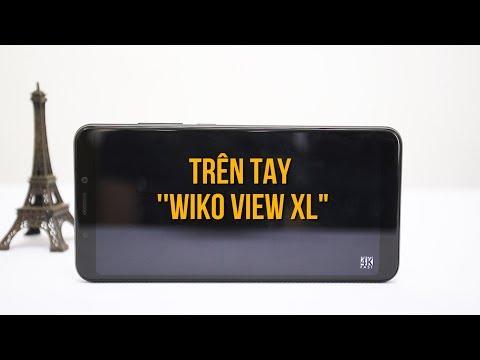 Trên tay Wiko View XL: Màn hình 18:9, Camera khá ấn tượng...