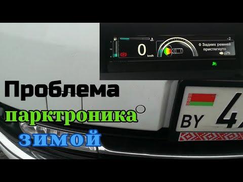 Зимняя проблема парктроника Рено Сценик 3. Всех с Наступающим!