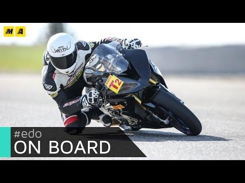 Onboard ad Alcarràs: BMW S1000RR Stock e Pirelli Diablo Superbike SC3