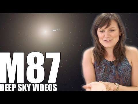M87 - Infinity in your Hand - Deep Sky Videos