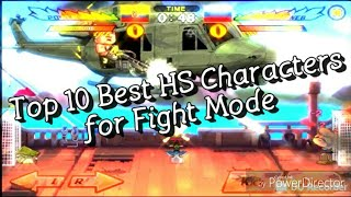 Top 10 Best characters for Fight Mode: Head Soccer