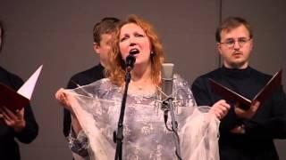 Евгения Смольянинова-Девушка пела в церковном хоре(стихи-А.Блок,музыка-Е.Смольянинова).(Фрагмент-песня из концерта Зимний вечер в Москве 2006., 2012-11-17T14:32:20.000Z)