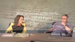JOP, Q3: Role of a Justice of the Peace