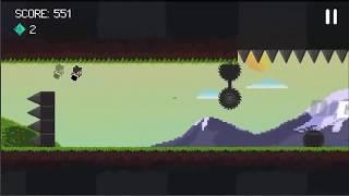 Gravity Dash!: Endless Runner Gameplay (IOS GAME)