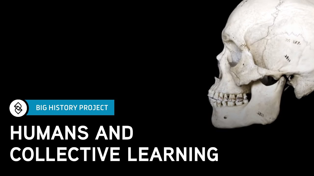 Threshold 6: Humans and Collective Learning | Big History ...