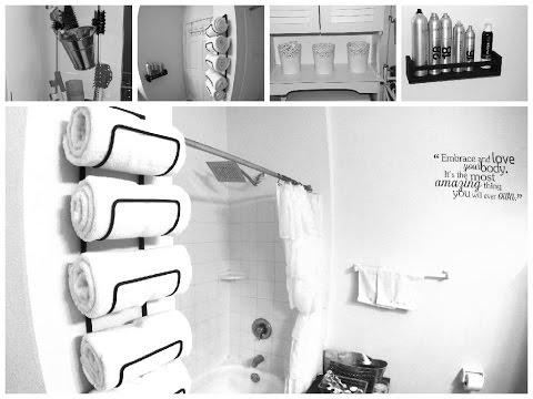 Bon DIY Small Bathroom Makeover: Spa Inspired Decor Ideas   YouTube