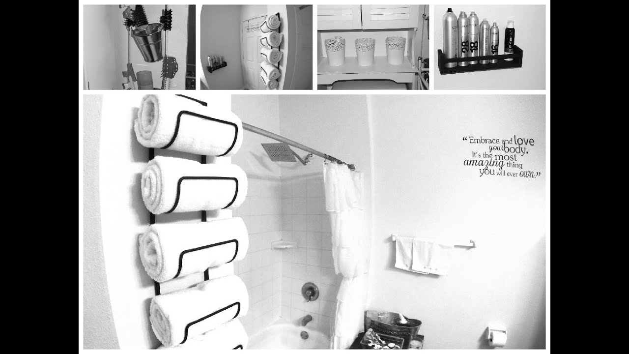 Diy small bathroom makeover spa inspired decor ideas - Diy bathroom decor ideas ...