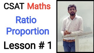 Download CSAT (M 1): Ratio Proportion Lesson # 1 (UPSC IAS Prelims Exam) Mp3 and Videos