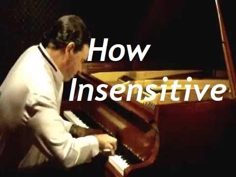How Insensitive Piano lesson - open voicings JPC