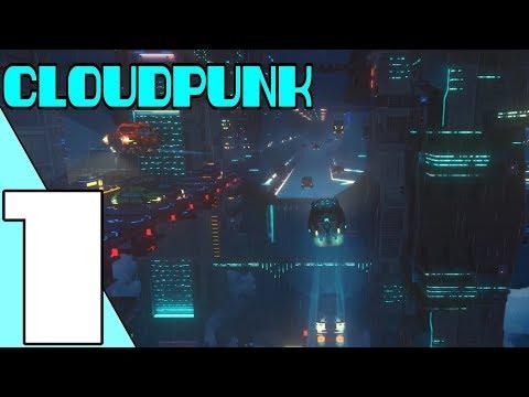 Cloudpunk - Gameplay Walkthrough Part 1 (No Commentary)
