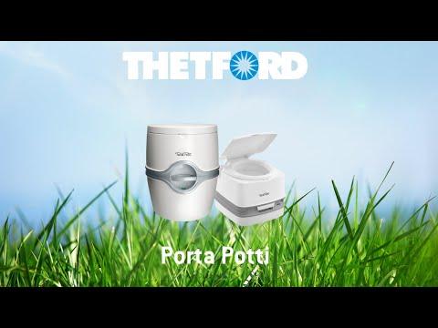 Thetford Porta Potti Qube 365 -- Comfortable and hygienic