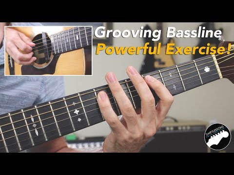 Must Know Blues Bassline | Powerful Beginner Guitar Exercise!