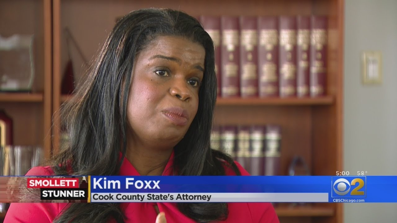 Kim Foxx Says Jussie Smollett Case Handled Just Like Other Low-Level  Felonies
