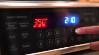 GE Cafe Appliances: Electric Range and Over the Range Microwave