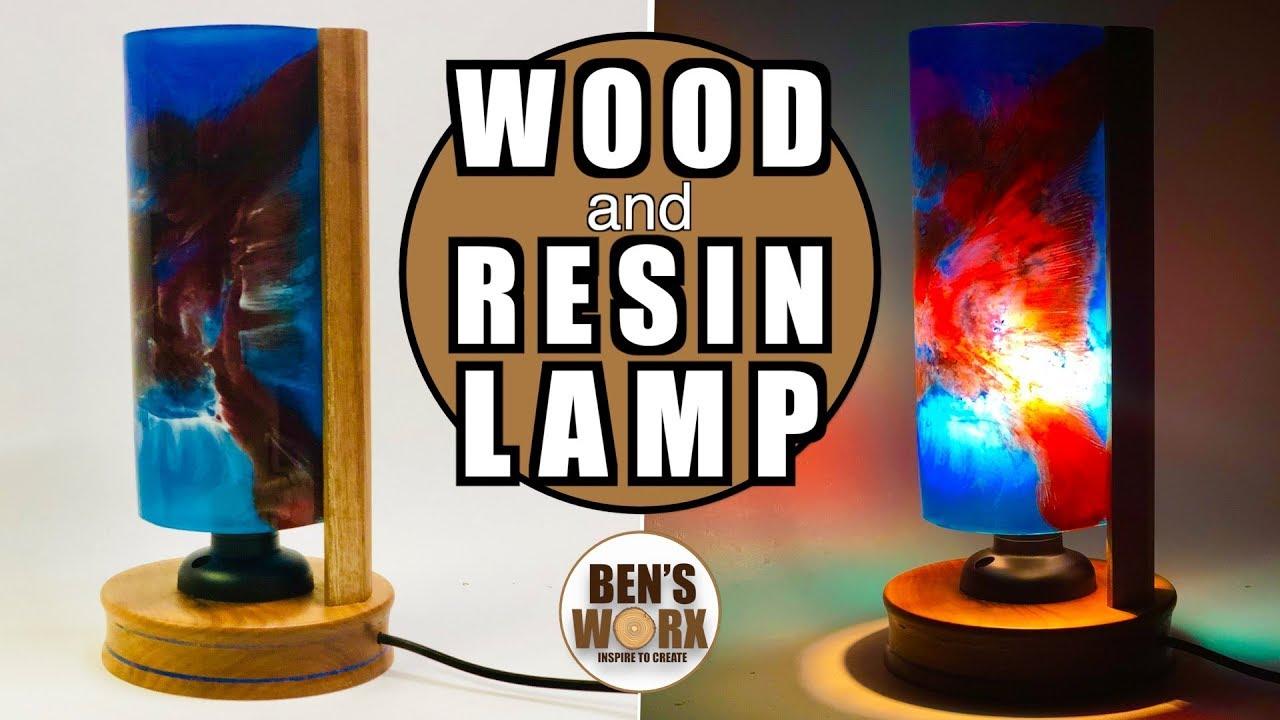 Make A Wood And Resin Lamp