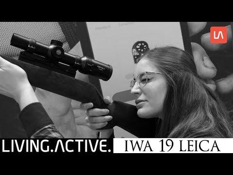 Leica Entfernungsmesser Crf : Repeat iwa 2019 leica neuheiten fortis 6 zielfernrohre und