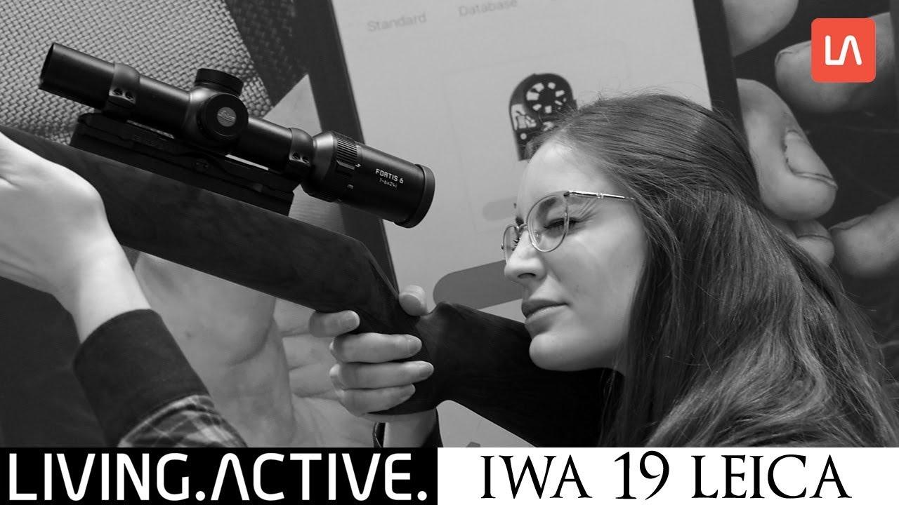 Leica Entfernungsmesser Crf : Iwa 2019 leica neuheiten fortis 6 zielfernrohre und rangemaster