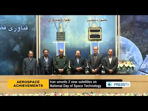 Iran two domestically developed satellites Tadbir and Persian Gulf