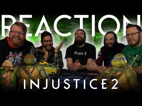 Injustice 2 - Teenage Mutant Ninja Turtles REACTION!!